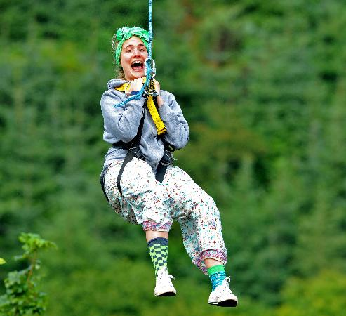 Todds Leap Activity Centre: Zip Line, aerial action adventures at Todds Leap, Ballygawley