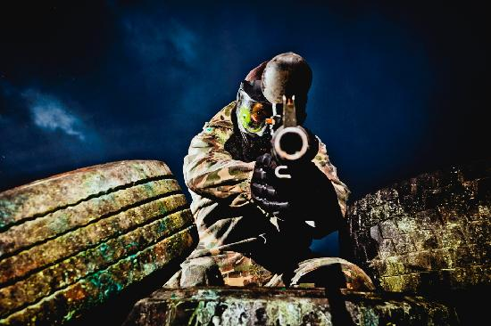 Todds Leap Activity Centre: Paintballing, offroad action at Todds Leap, Ballygawley.