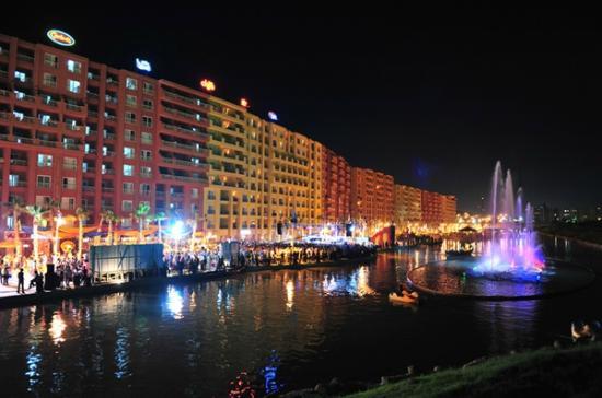 Porto Marina Golf Resort : The Resort With The Dancing Fountain