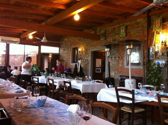 Scandicci, İtalya: sala esterna