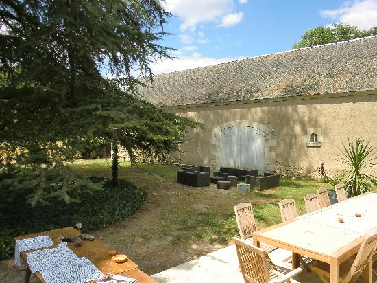Le Voriou : terrasse