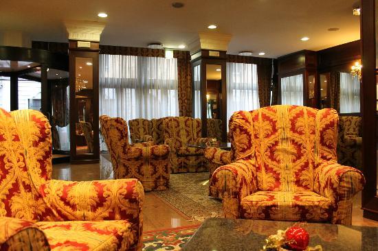 Mythos Hotel: The Hotel lobby