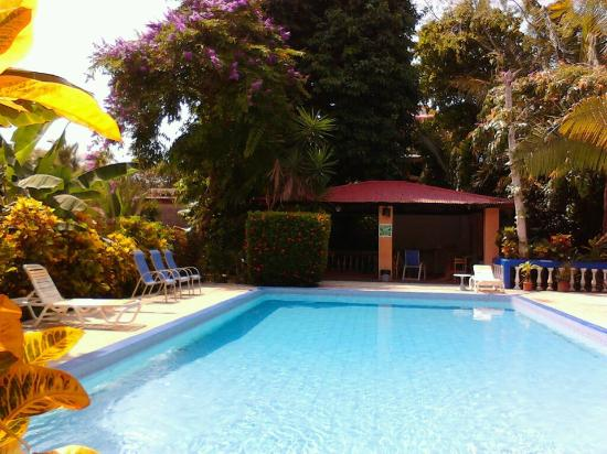 Hotel Tropical Garden: Piscina y rancho