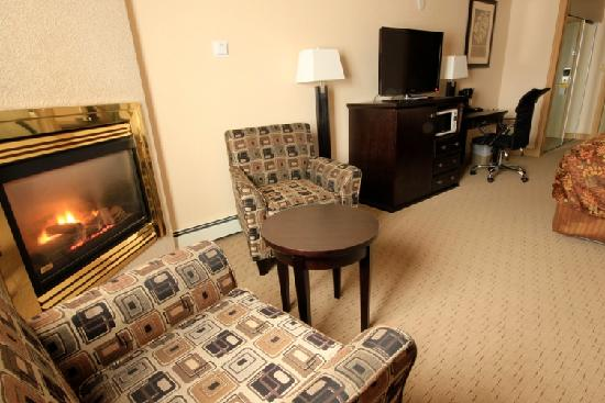 Days Inn High Level: Fireplaces in all guestrooms