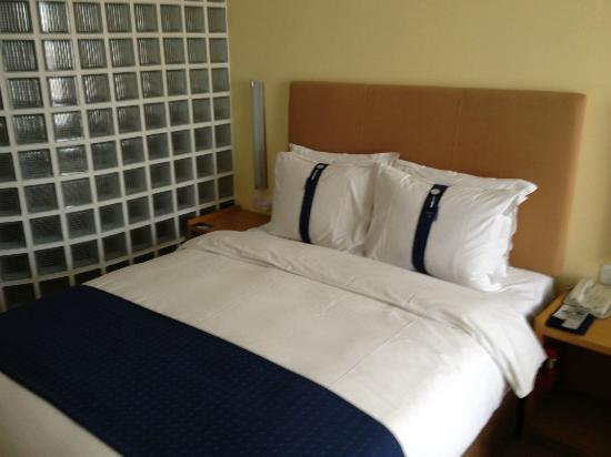 Holiday Inn Temple of Heaven : Das Doppelbett