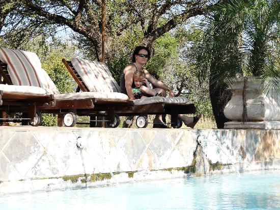 Elandela Private Game Reserve: RALAXING ON DECK CHAIR