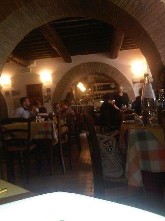 Locanda Acquasanta : La sala