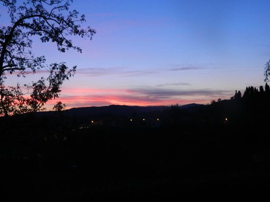 Agriturismo Al Palazzetto: Il rosso tramonto