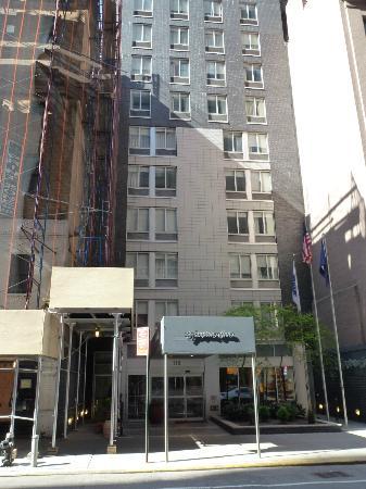 Facade Picture Of Hampton Inn Manhattan Madison Square Garden Area New York City Tripadvisor