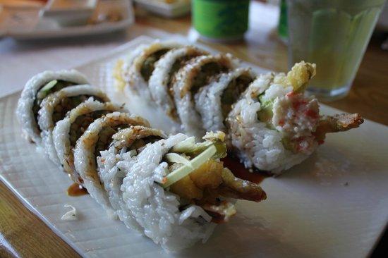 Midori Sushi Restaurant : Shrimp Tempura