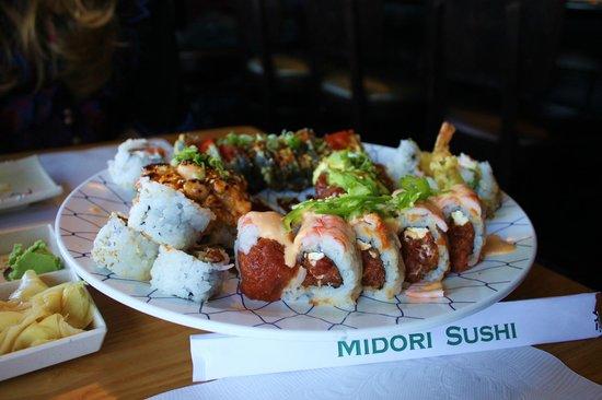 Midori Sushi Restaurant : Delicious