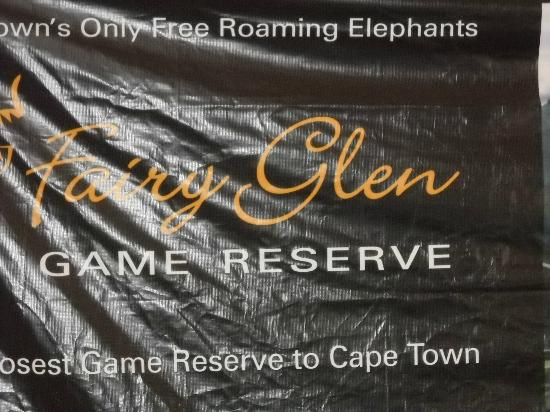 Fairy Glen Private Game Reserve: entrance