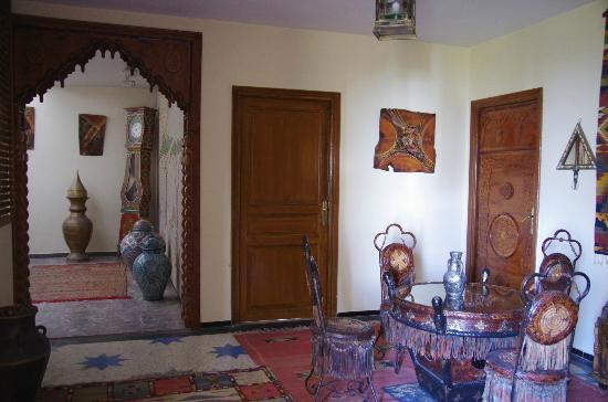 Villa Quieta: Eine der Aufenthaltsecken in der Villa