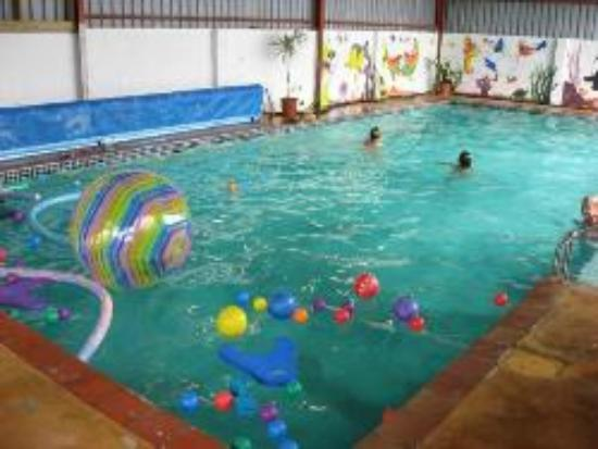 On Good Land Country Guest House: Indoor, heated pool