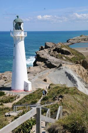 Castlepoint Holiday Park and Motels : love lighthouse