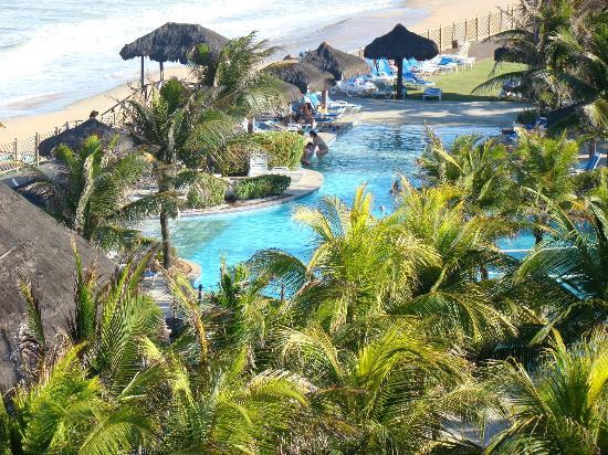 Prodigy Beach Resort Natal: vista do quarto... outro angulo...