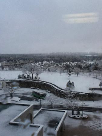Hotel Sun Rural Ogata: 4月なのに雪、スタッドレスは必須です。