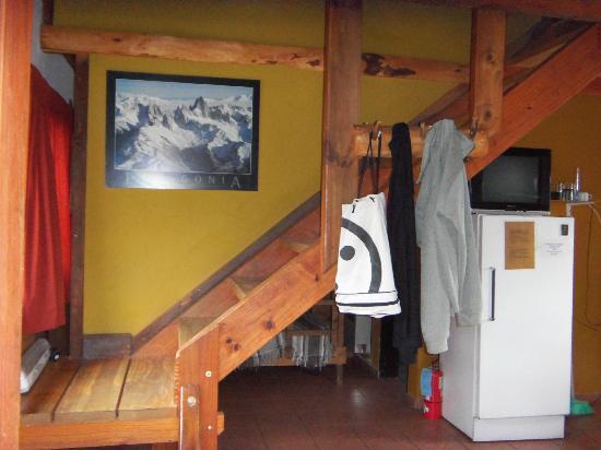 Cabanas Rivendel: habitaciones arriba