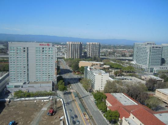 San Jose Marriott: View from room
