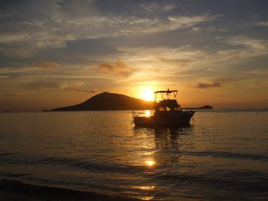 Bay Islands, Honduras: Beautiful sunsets