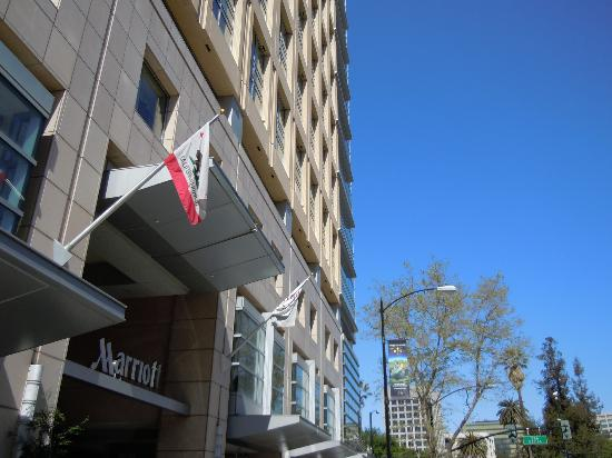 San Jose Marriott: Marriott from ouside