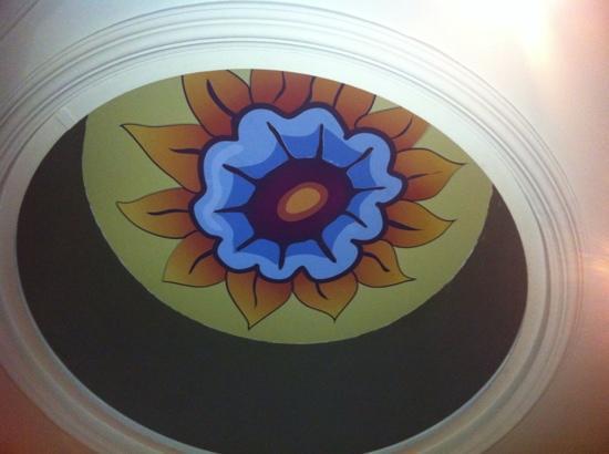 La Belle Epoque : ceiling decoration