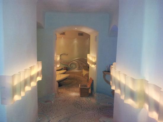 Grand Hotel Savoia: spa