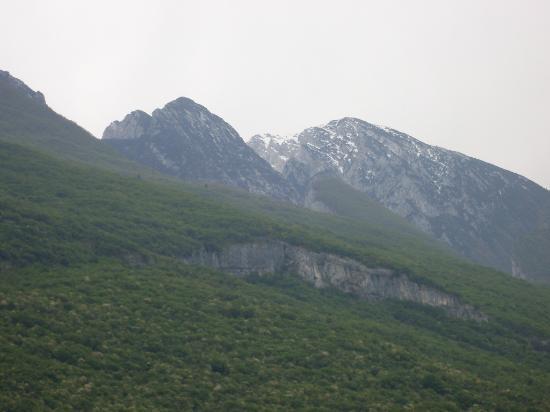 Hotel Baia Verde Malcesine: montagne dal balcone