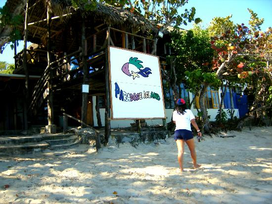 Paradise Island & The Mangroves (Cayo Arena): The shack where we had lunch
