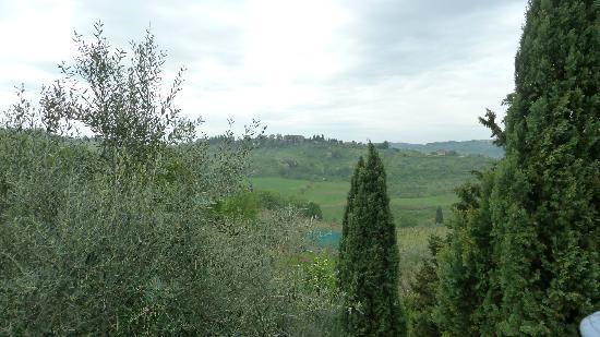 Villa Talente: Vista sulle colline