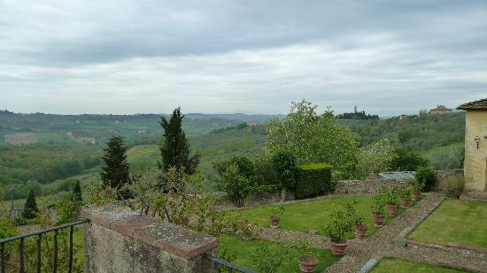 Villa Talente: Vista dal giardino