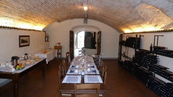 Villa Talente: Sala colazione