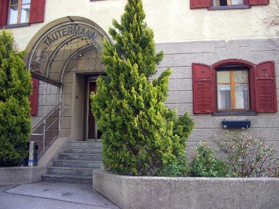 Tautermann: l'ingresso