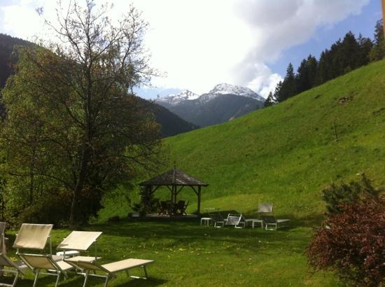 Hotel St. Pankraz - Ultental - Sudtirol: Il giardino