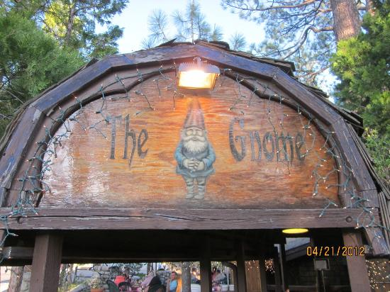 Gastrognome's Gnome over entrance