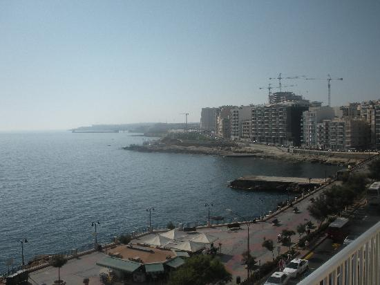 Astra Hotel: View from the small balcony