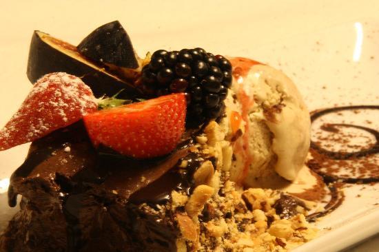Over Aaen : Mousse de chocolate con parfait de mocca