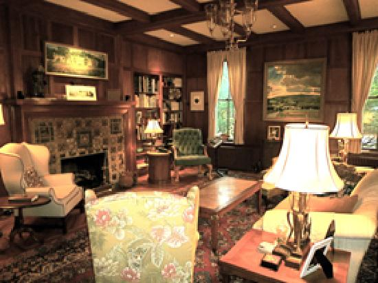 The Chancellor's House: The Library 2