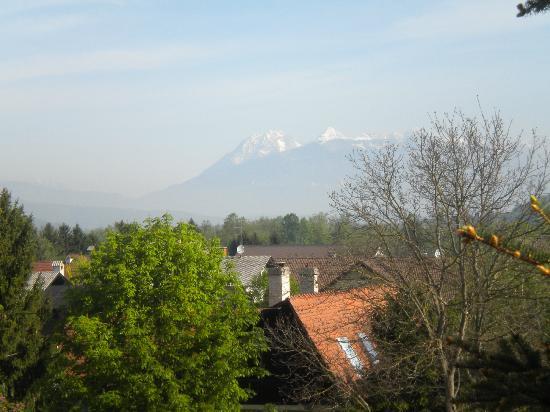 Penzion Tavcar ljubljana: vista dal balcone della nostra camera