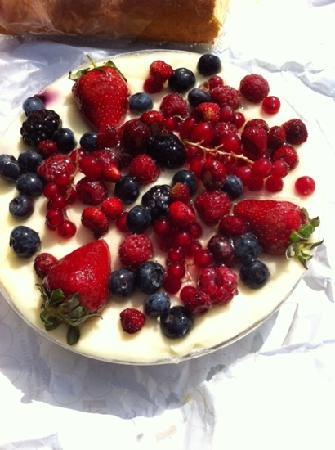 Pasticceria Costa : Muosse ai frutti di bosco