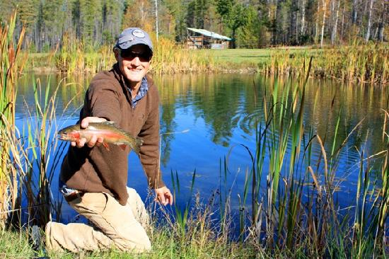 Fly fishing in the great bear wilderness picture of for Montana fishing trips