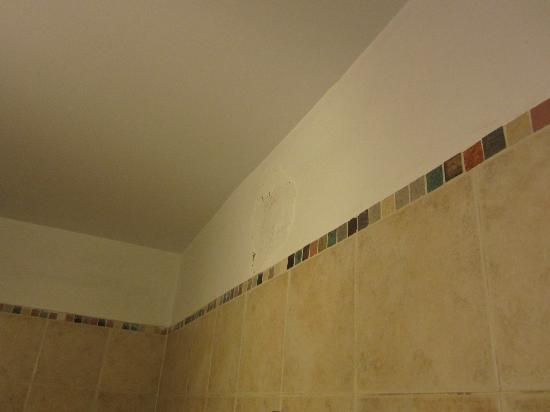 Hotel La Giralda I: Humedad en el baño