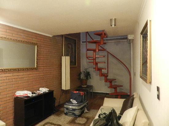 Chileapart.com : piso inferior do loft