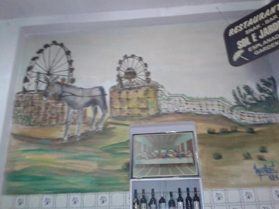 Sol e Jardim : wall paintings