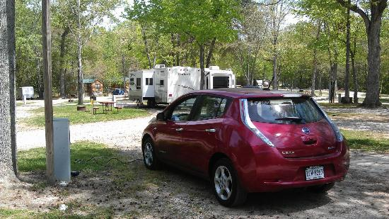 Williamsburg KOA Campground: Williamsburg KOA charging