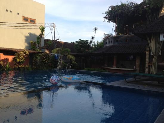 Bali Ayu Hotel: another view of pool