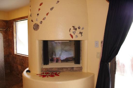 Boots and Saddles: Fire place