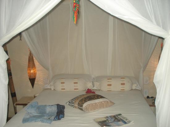 Cor da Terra: linda cama suite zanzibar