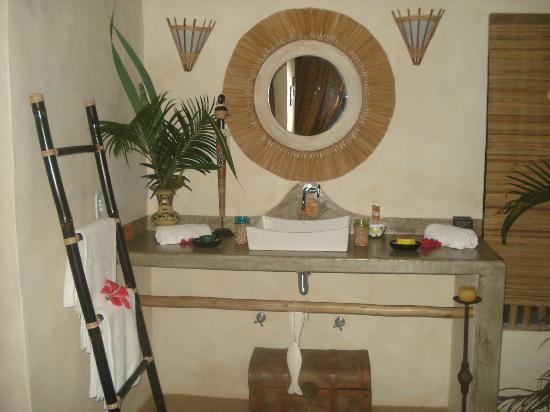 Cor da Terra: banheiro rustico maravilhoso