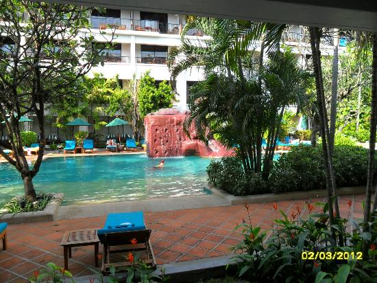 """Banthai Beach Resort & Spa: View from a """"Deluxe"""" room.Fantastic!"""